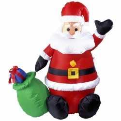 Opblaasbare kerstman 122