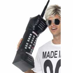 Opblaasbare retro telefoon 75