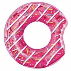 Opblaasbare roze donut 107