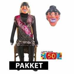 Opblaasbare sarah pop masker