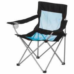 Opvouwbare campingstoel leuning