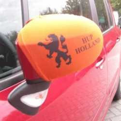Oranje autospiegel hoesjes