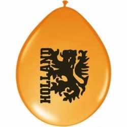 Oranje ballonnen leeuw