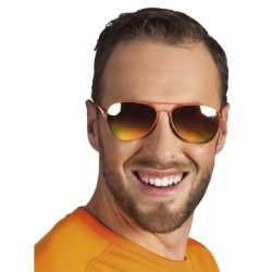 Oranje bril spiegelglas