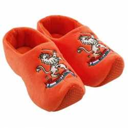 Oranje clogs pantoffels Holland