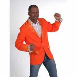 Oranje colbert heren