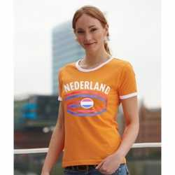Oranje dames shirt Nederland