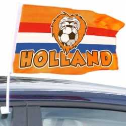 Oranje Holland autovlag 30 bij 45