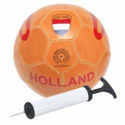 Oranje holland speelgoed voetbal pomp