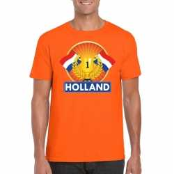 Oranje holland supporter kampioen shirt heren