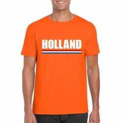 Oranje holland supporter shirt heren