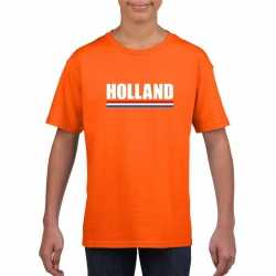 Oranje holland supporter shirt kinderen