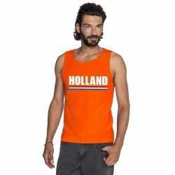 Oranje holland supporter tanktop heren
