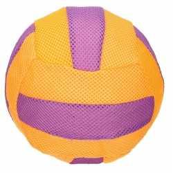 Oranje/paars zachte mesh speelgoed bal kinderen 23