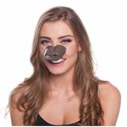 Paarden dierenneus masker volwassenen