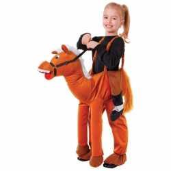 Paarden stap in kostuum kids