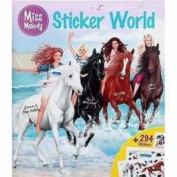 Paarden sticker kleurboek miss melody