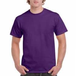 Paars katoenen shirt volwassenen