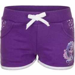 Paarse frozen pyjama shorts