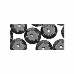 Pailletten zwart 500 stuks