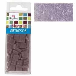 Pakje mozaiek stenen lila paars 1
