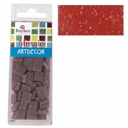 Pakje mozaiek stenen rood 1