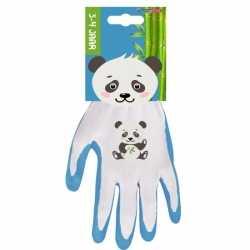 Panda kinderhandschoenen / tuinhandschoenen 3 4 jaar