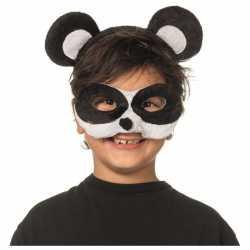 Panda masker tiara kinderen