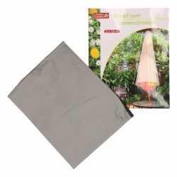Parasolhoes 120 grijs lifetime garden