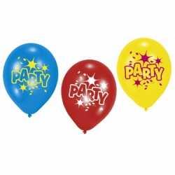 Party ballonnen 6 stuks