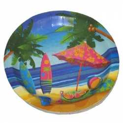 Party bordjes hawaii 23