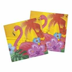 Party servetten hawaii hibiscus