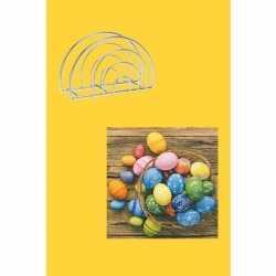 Pasen tafeldecoratie pakket geel/gekleurd