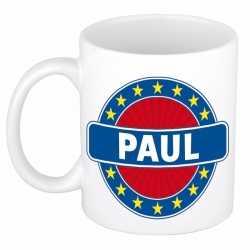 Paul naam koffie mok / beker 300 ml
