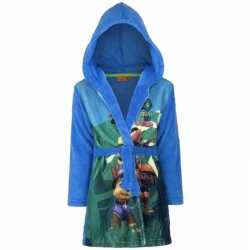 Paw patrol fleece badjas blauw jongens