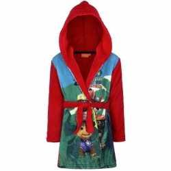 Paw patrol fleece badjas rood jongens