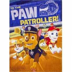 Paw patrol fleece deken jongens