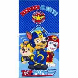Paw patrol heroes badlaken/strandlaken blauw 70 bij 140