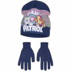 Paw patrol muts handschoenen blauw jongens