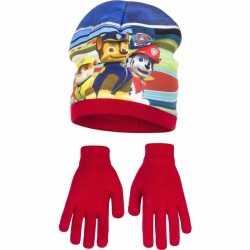 Paw patrol muts handschoenen rood jongens