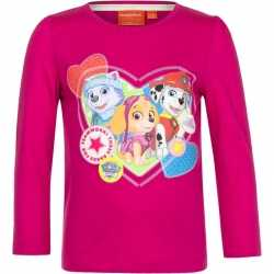 Paw patrol shirt roze meisjes