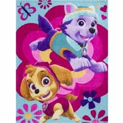 Paw patrol skye everest fleece deken/plaid meisjes