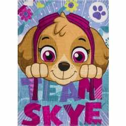 Paw patrol team skye fleece deken/plaid meisjes
