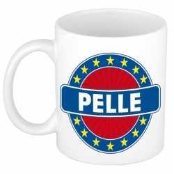 Pelle naam koffie mok / beker 300 ml