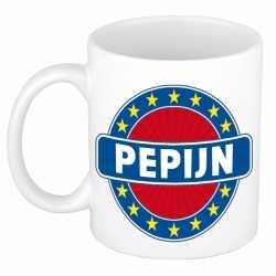 Pepijn naam koffie mok / beker 300 ml