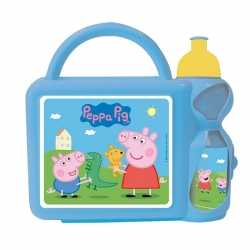 Peppa big blauwe lunchbox beker