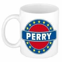 Perry naam koffie mok / beker 300 ml