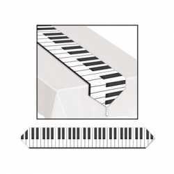 Piano toetsen tafelloper