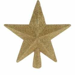Piek ster goud glitters 19