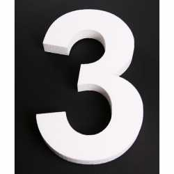Piepschuim 3 cijfer 25